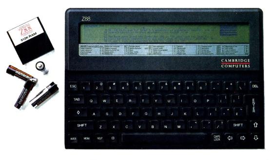 Cambridge Computer Z88