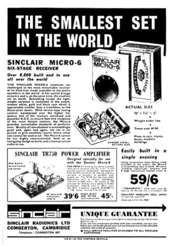 Sinclair's Micro-6