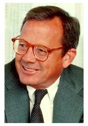 John Opel, former IBM CEO