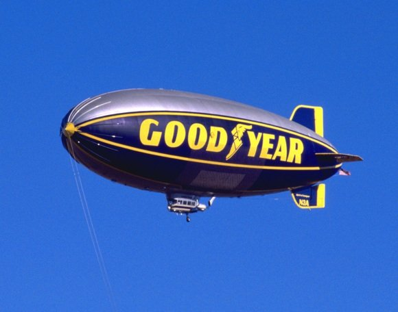 ZEPPELINS to replace Goodyear blimps in American skies ... Goodyear