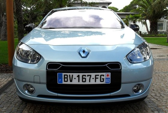 Renault Fluence ZE e-car