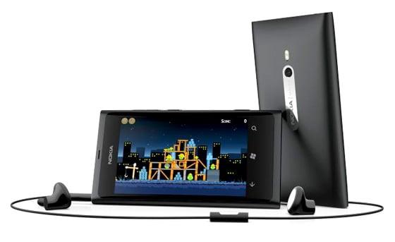 Nokia Lumia 800 Windows Phone 7.5 Mango handset