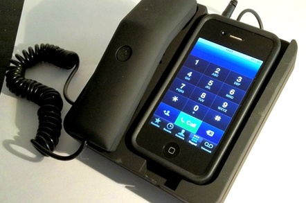 Thumbs Up Desktop Phone