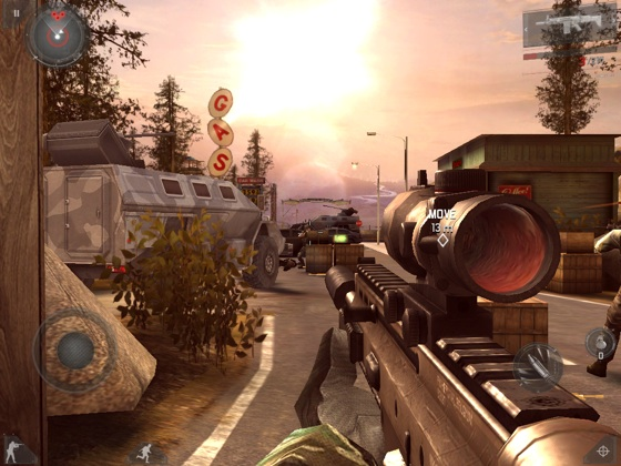 Modern Combat 3: Fallen Nation iOS app screenshot
