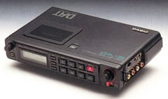 Casio DA-2 portable DAT recorder