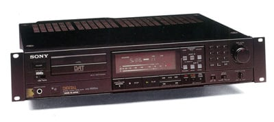 Sony DTC-1000ES HHB modded RDAT recorder