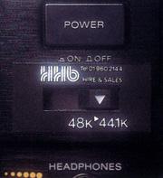 Sony DTC-1000ES RDAT recorder HHB mod