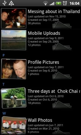 Just Pictures Android app screenshot