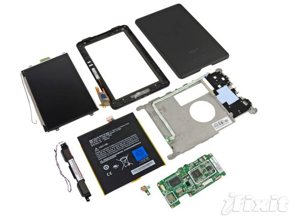 Amazon Kindle Fire: full teardown