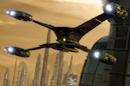 a 3D space ship