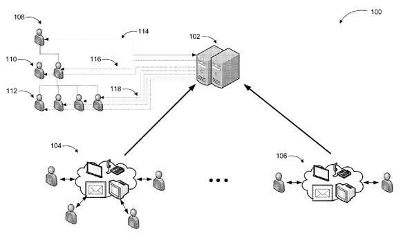 Microsoft patent-application illustration