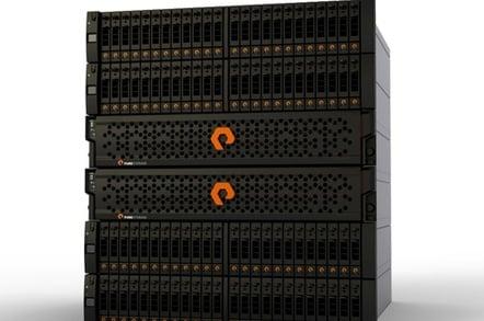 Pure Storage array