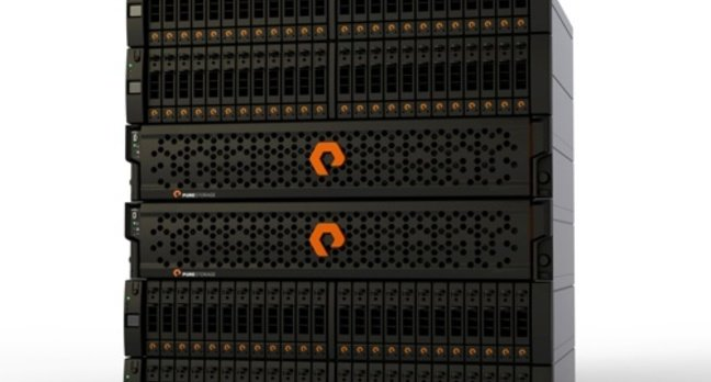 Pure Storage array