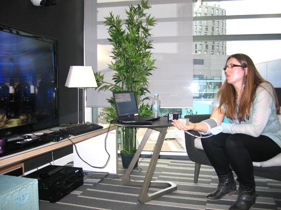 BBC R&D Labs feedback cuff