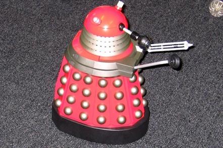 BBC R&D Labs' Dalek