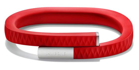 Jawbone Up motion-sensing wristband