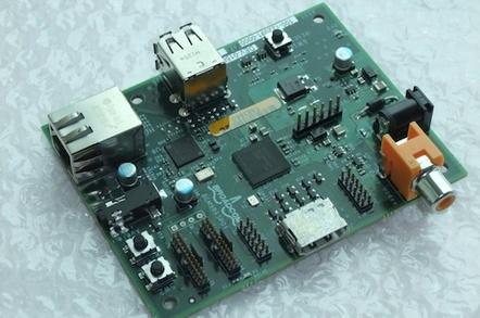 RaspberryPi Alpha board