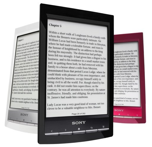 Sony Reader Wi-Fi PRS-T1 e-book reader