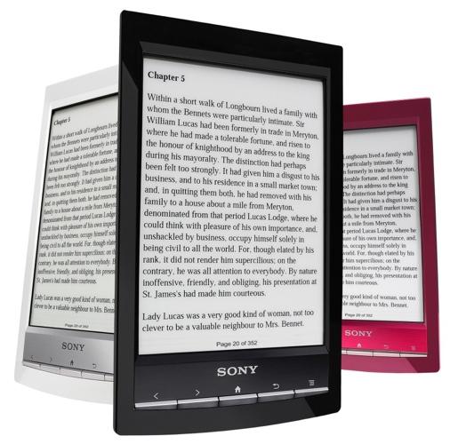 Sony Reader Wi-Fi PRS-T1 e-book reader