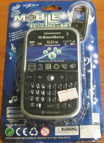 Chinese BlackBerry rip-off