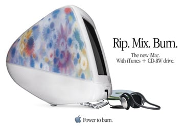 Apple iMac Rip Mix and Burn