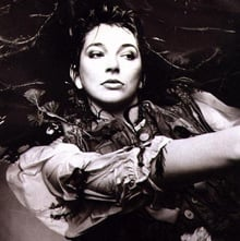 Kate Bush Hounds of Love album back cover