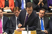 George Osborne looking like he means it