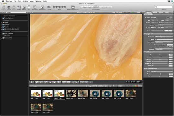 Hasselblad Phocus 2.6.5 imaging software