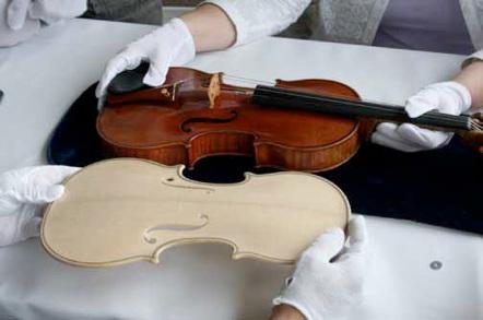 Stradivarius violin reproduction