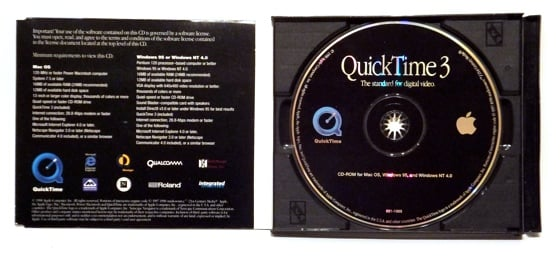 QuickTime 3 disc