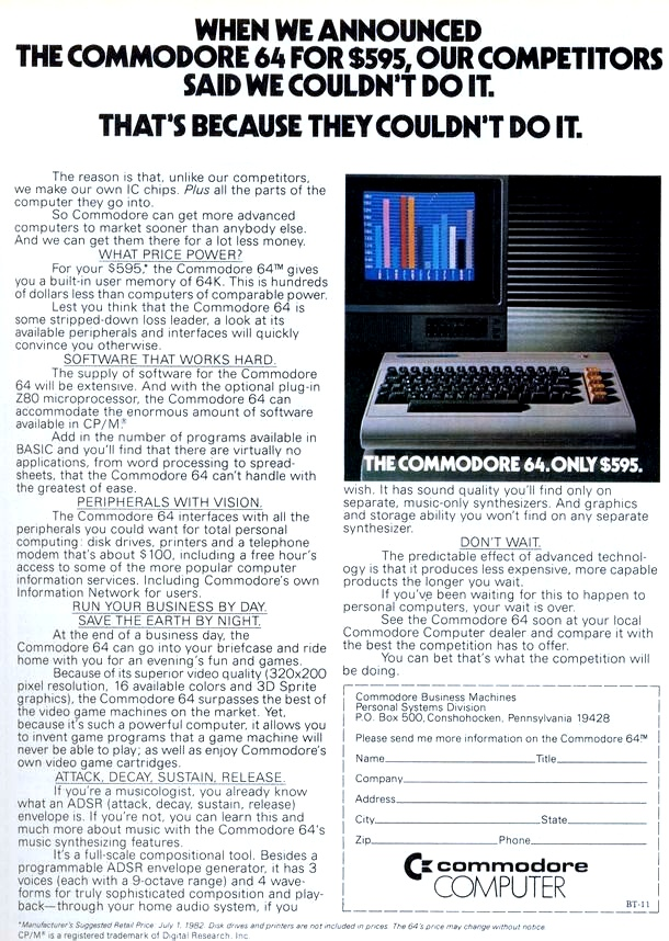 The Commodore 64 is 30 • The Register