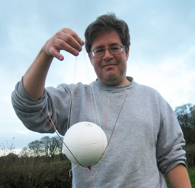 Dave Akerman and his Buzznik payload