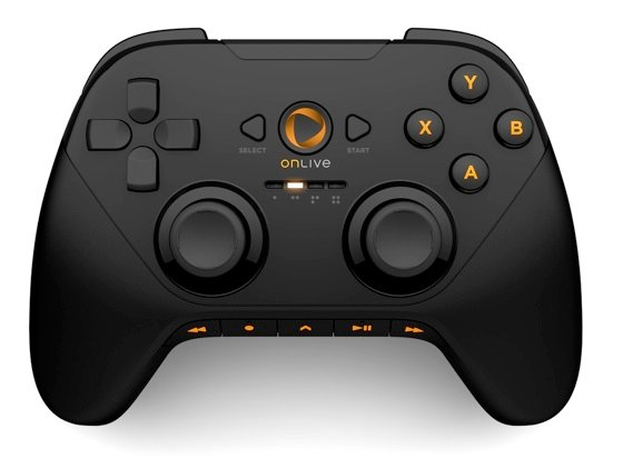 OnLive cloud gaming system microconsole controller