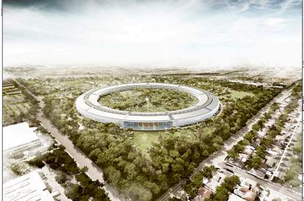 Apple HQ 2, credit Cupertino Council