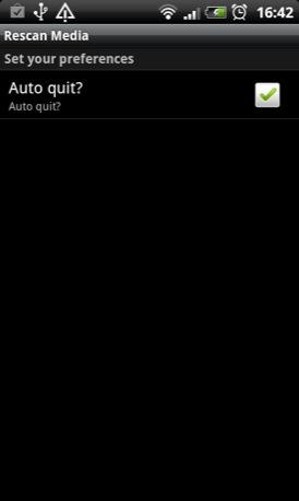 Rescan Media android app screenshot