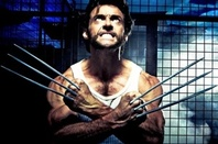 Wolverine in a cage - X-Men publicity pic
