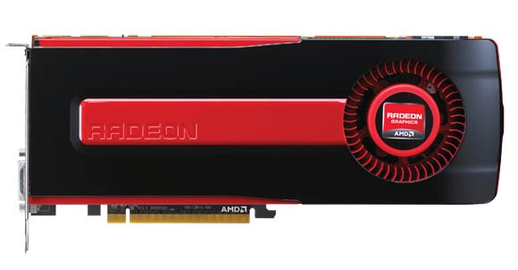 AMD Radeon HD 7970 graphics card