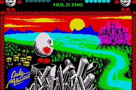 Dizzy ZX Spectrum screenshot