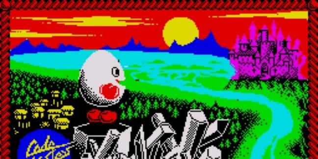 Dizzy ZX Spectrum screenshot