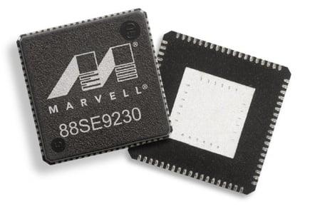 Hybrid NAND disk controller Marvell 88SE9230