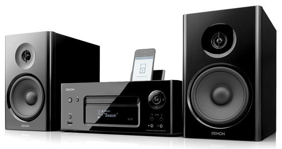 Denon CEOL Noir hi-fi system
