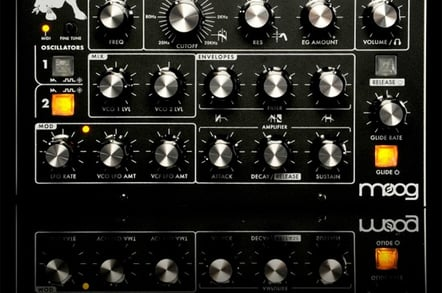 Moog Minitaur Analogue Bass Synthesiser