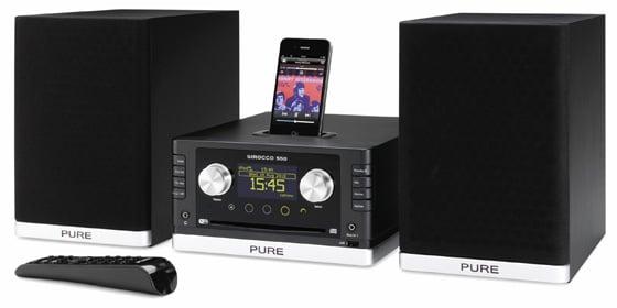 Pure Sirocco 550 mini hi-fi system