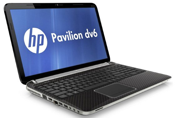 HP Pavilion dv6-6b06sa 15.6in AMD quad-core notebook