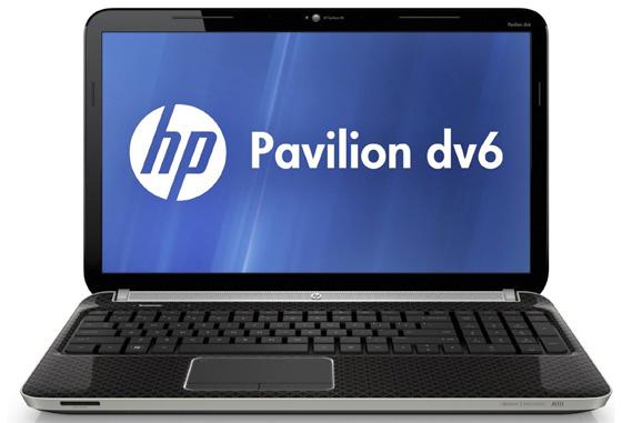 HP Pavilion dv6-6b06sa 15.6in AMD quad-core notebook