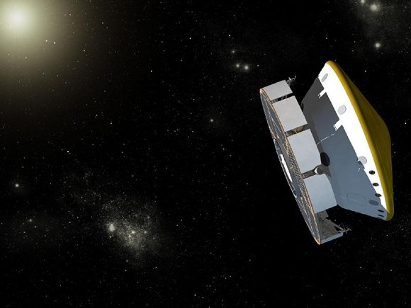 Artist's concept of MSL during cruise phase