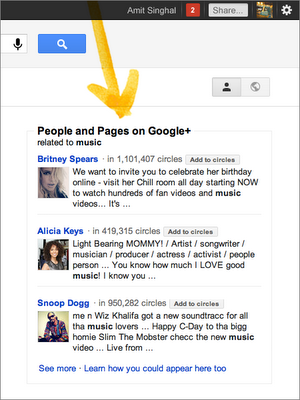 Google People and Pages
