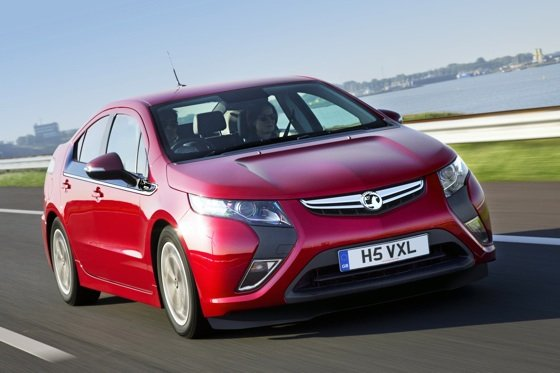 Vauxhall Ampera E-Rev e-car
