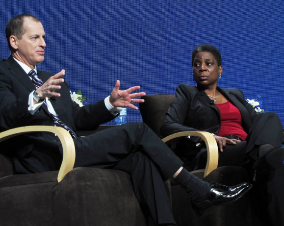 Ursula Burns and Gary Shapiro