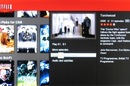 Netflix streaming service screenshot on Samsung